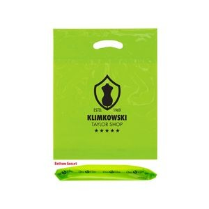 "OXO Reusable Die Cut Fold-Over Reinforced Bag (12""x16""x3"") - Flexo Ink"