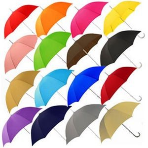 170T Polyester Automatic Open Straight Umbrella