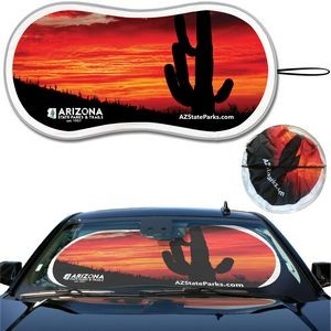 Prest-O-Shade® FX Full Color Full Almost Bleed Single Loop Sun Shade AutoSunShade