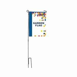 "Garden Flag - 12"" x 18"" - Single sided - Graphic package"