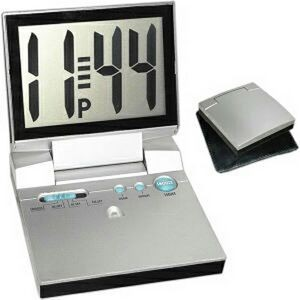 Large display LCD alarm clock (Screen printed)