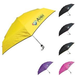 "42"" Auto Pop Umbrella with Trim"