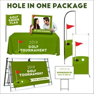 Golf tournament Hole in one package