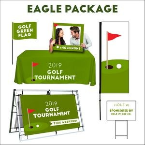 Golf Tournament Eagle sign package