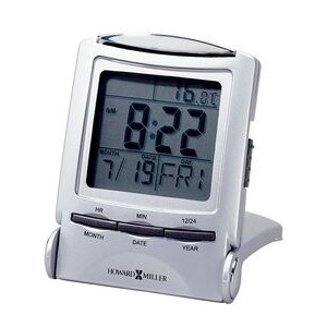 Howard Miller Rectangle Distant Time Traveler Alarm Clock