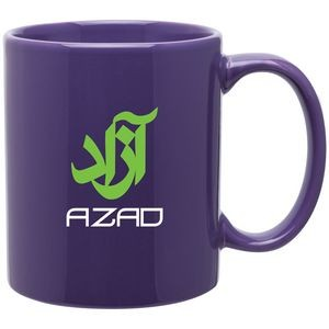 11oz C-Handle Mug (Purple)