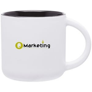 14oz Minolo Mug (Matte White & Black)