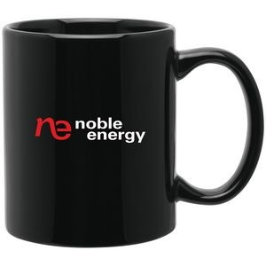 11oz C-Handle Mug (Black)