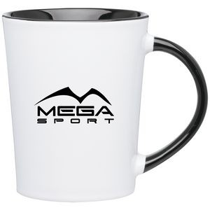 14oz Emma Mug (White & Black)