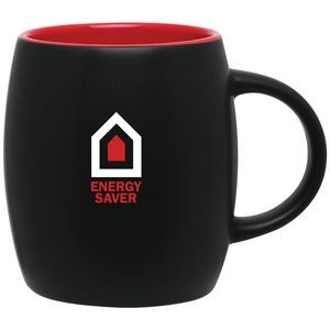 14oz Joe Mug (Matte Black & Red)