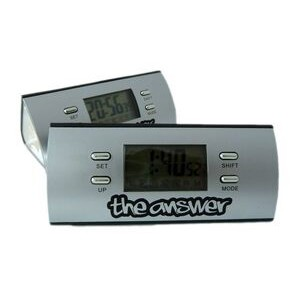 LCD Alarm Clock W/ Calendar & Flashlight