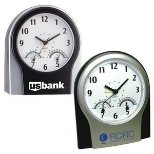 Multi Function Desk Clock with Temp & Humidity